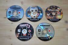 PS2 - 5 Spiele für Playstation 2 nur CD