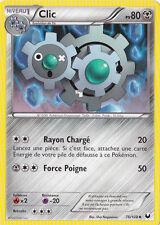 Clic -N&B:Explorateurs Obscurs-76/108-Carte Pokemon Neuve France