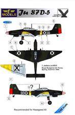LF Models Decals 1/48 JUNKERS Ju-87D-5 STUKA Royal Bulgarian Air Force