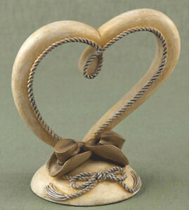 Western Cowboy Hat Rope Ropes Rodeo Country Flair Wedding Cake Top Topper NIB