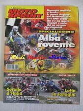rivista MOTO SPRINT N.14/2001 Alex De Angelis Kenny Roberts Capirossi Max Biaggi