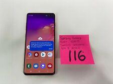 Samsung Galaxy S10+ Plus G975U 128GB Flamingo Pink GSM Unlocked W/ warranty #116