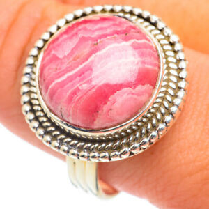 Rhodochrosite 925 Sterling Silver Ring Size 10.75 Ana Co Jewelry R67090F