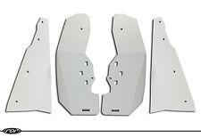 Polaris RZR XP 1000 / XP 4 1000 RZR Mud Flaps / Fender Flares FULL SET(4)  WHITE
