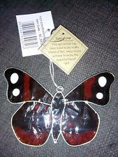 Stained Glass Butterfly Suncatcher Window Decoration Home & Garden 4 varieties
