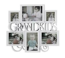 BIG White 6 pcs Grandkids Photo Picture Frame Set Home wall Display Decor New