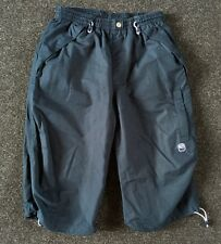 Nike Navy Blue 3/4 Tracksuit bottoms Shorts Size Small