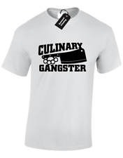 CULINARY GANGSTER MENS T SHIRT FUNNY GREAT BRITISH CHEF DESIGN BAKE OFF COOK