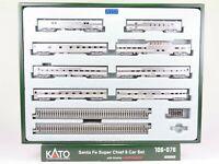 N Scale Kato 106-076 ATSF Santa Fe Super Chief 8-Car Passenger Set