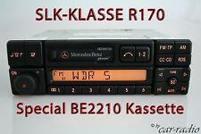 Original Mercedes R170 SLK-Klasse W170 Special BE2210 Becker Kassette Autoradio