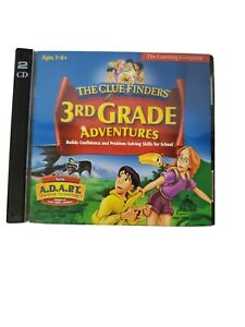The Clue Finders' 3rd Grade Adventures Ages 7-9  - CD ROM for Win 98/95 MAC