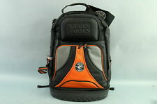 "Klein Tools 1680 Black 20"" Ballistic Weave Molded Bottom Organizer Backpack"