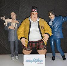 McFarlane Lot Austin Powers Fat Bastard Dr Evil Large Talking/Posable Figure 9�