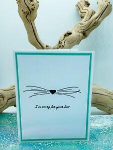Stampin Up Card Kit Pet Loss Condolence