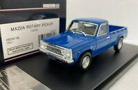 1/43 HI STORY HS247BL MAZDA ROTARY PICK UP REPU 1974 resin model car BLUE