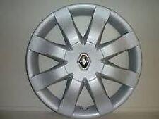 Coppa Ruota Copricerchio RENAULT CLIO III 2005 15 pollici con logo Renault