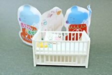 "Miniature Baby Articles Bed  Authentic 2.1"" Re-ment Japan"