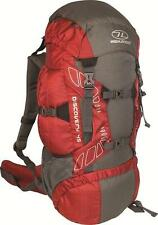Highlander Discovery 45l Rucksack Premium Quality Backpack Durable Red 45 Litre