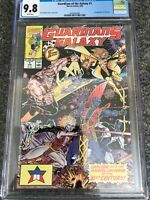 Guardians of the Galaxy 1 CGC 9.8 NM/MT Starhawk Yondu Jim Valentino Movie 🎥