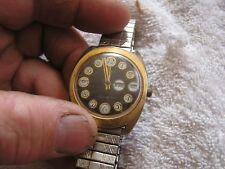 Vintage Timex Watch Telephone Dial