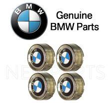 For BMW E10 E21 E30 3-Series Set of 4 Wheel Center Caps w/ Emblem 6 x 14 OES