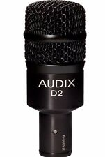 Audix D2 Hypercardioid Dynamic Drum Low/Mid Frequency Instrument Microphone NEW