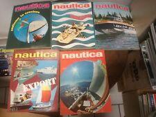 Rivista Nautica ANNATA COMPLETA 1969 barca mare motoscafo gommone motore vela **