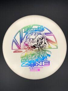 New Discraft ESP GLO ZONE - 173-174g - Rainbow Foil - 2021 Memorial