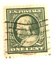 1908 Benjamin Franklin Stamp!