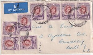 SOUTHERN RHODESIA 1954 COVER TO UK