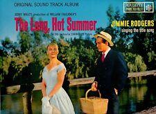 LONG HOT SUMMER-SOUNDTRACK-ALEX NORTH SCORE-ROULETTE JAPAN LP PRESSING MINT