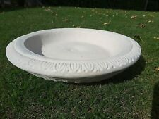 Replacement Bird bath bowl (3gt) stone dish top