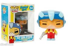 Figura vinile Stewie Griffin Ray Gun Family Guy Pop Funko Vinyl figure n° 34