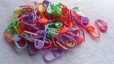 25 Segna punto per Lana e Cotone in plastica colorati 22 x10mm