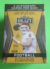 Leaf Draft 2018 Football Cards Blaster Box