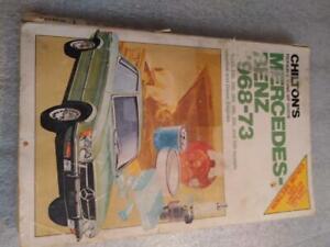 Chilton Mercedes Benz 1968-73 Repair manual