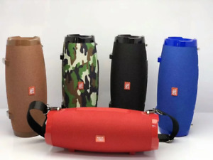 20W Tragbarer Bluetooth Lautsprecher Stereo Subwoofer PC Handy Musikbox Soundbox