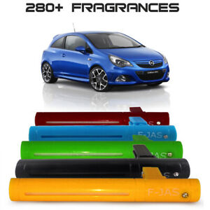 Car Freshener Vent Clip with 10ml Refill, 5 Colors for Vauxhall Corsa, Astra