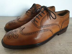 Fratelli Rossetti Brown Leather Full Brogue Wingtip Oxfords US 11.5 MINT - ITALY