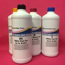 4x Litre Refill Ink Bottles Brother DCP 6690CN 6690CW J515N J715N J315W Premium