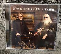 Audio CD - ELTON JOHN & LEON RUSSELL - Hey Ahab Single DJ Promo - NEW