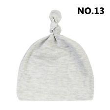 Baby Newborn Toddler Infant Boys Girls Cotton Cute Knot Sleep Hat Cap Beanie New