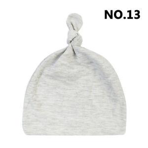 Newborn/Baby's Hat/Cap Toddler Infant Kids Boy Girl Cotton Knot Soft Beanie