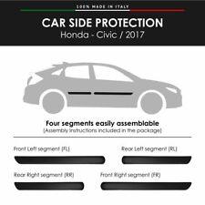 Modanature Laterali Bumper Paracolpi per Honda Civic 2017 con Biadesivo 3M