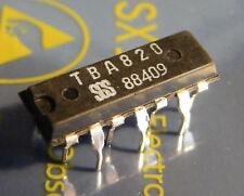 3x TBA820 2W Audio Power Amplifier, SGS