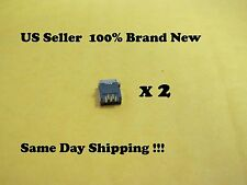 2 x BRAND NEW USB CHARGING CONNECTOR PORT FOR PS3 CONTROLLER REPAIR PART US
