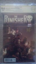 The Punisher #218 Signed By Matthew Rosenberg Variant Marvel Legacy CGC/CBCS 9.6