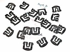 67-69 Mustang Windshield & Rear Window Trim Molding Clips (Qty-20) #120
