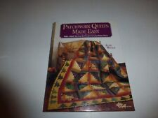 Patchwork Quilts Made Easy: Make a Quilt You Can be by Wells, Jean HB New 294