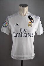 Real Madrid Kinder Trikot Gr. 128 140 152 164 176 Adidas Weiß Fly Emirates Shirt